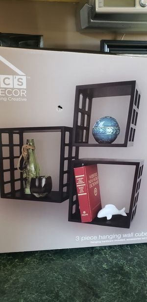 3 square wall shelves for Sale in Nashville, TN