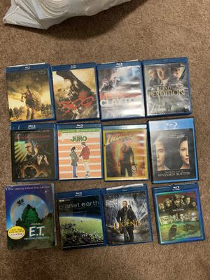 11 Blu-ray movies for Sale in Elk Grove, CA