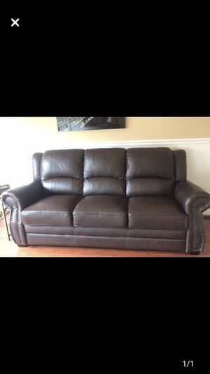 Leather Couch for Sale in Rye Brook, NY