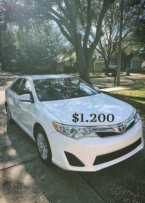 💯✤Super clean 2013 toyota camry Full Price $1400✤💯 for Sale in Long Beach, CA