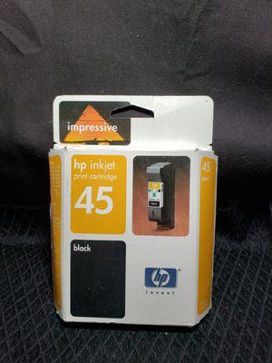 New sealed Hp inkjet cartridge 45 for Sale in Zanesville, OH