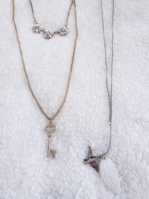 2 trendy fashion necklace for Sale in Surprise, AZ