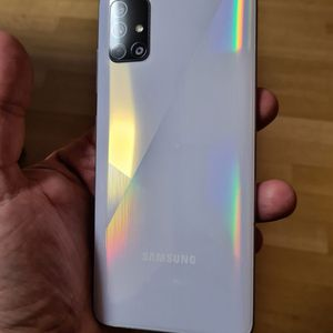 """Samsung Galaxy A-51 (128GB) ,, """" Unlocked For Any Carrier """" (Like Almost New) """"48 MP, f/2.0, 26mm (wide), 1/2.0"""", 0.8µm, PDAF 12 MP, f/2.2 """" for Sale in Springfield, VA"""