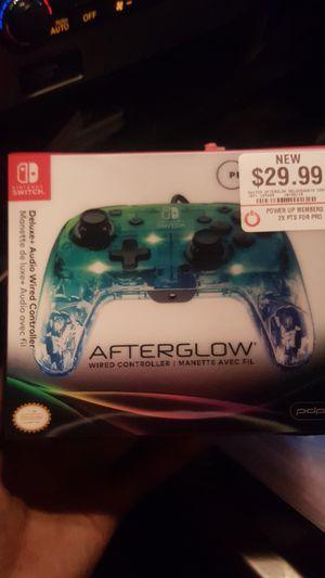 Nintendo Switch Afterglow controller for Sale in Phoenix, AZ