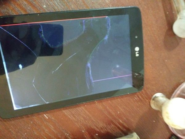 LG think pad 7.0 LTE broken screen