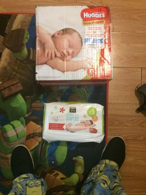 168 newborn diapers for Sale in Homestead, PA