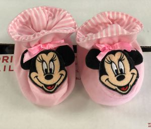 Mickey booties for baby girl 👧 ....,!!! for Sale in San Gabriel, CA
