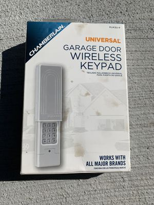Chamberlain wireless keypad for Sale in Westfield, NJ