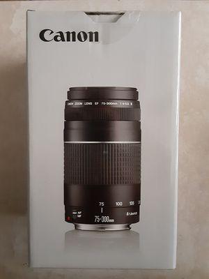 Canon Camera zoom lense for Sale in Pompano Beach, FL