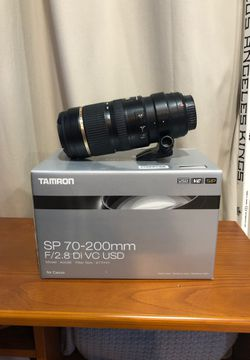Tamron for Canon sp 70-200mm 2.8 Di vc USD LIKE NEW for Sale in South Pasadena,  CA