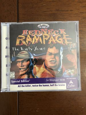 REDNECK RAMPAGE THE EARLY YEARS Special Edition, PC CD-ROM Plus Free AOL Trial!! for Sale in Phoenix, AZ