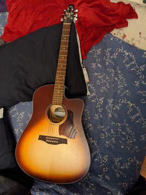 Seagull Acoustic Guitar (Entourage Autumn Burst) for Sale in Dallas, TX