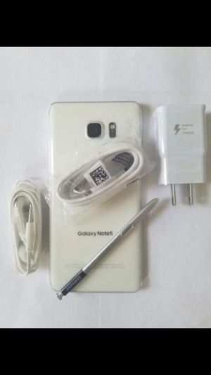 "Samsung Galaxy Note 5 Factory Unlocked Excellent Condition ,aS liKE AlmoSt ""nEW"" for Sale in Springfield, VA"