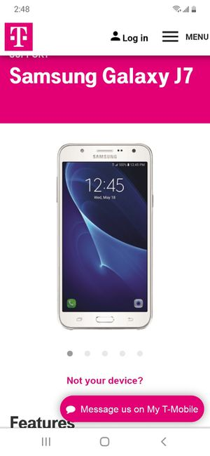 Samsung galaxy j7 for Sale in Milwaukee, WI