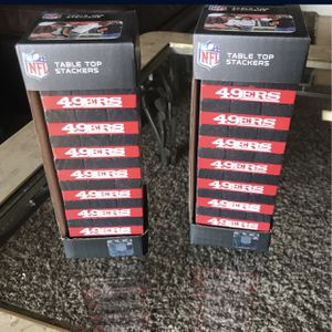 San Francisco 49ers Jenga for Sale in Fresno, CA