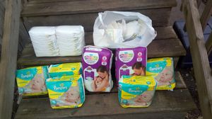 Newborn diapers, size 1 for Sale in Toluca, IL