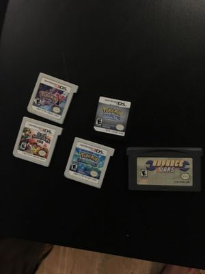 Nintendo 3ds Pokémon games for Sale in Denver, CO