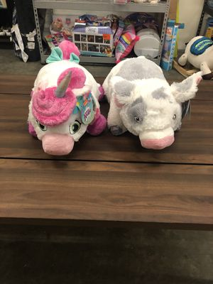 Nickelodeon and Moana Pillow Pet Stuffed Animal for Sale in Charlotte, NC