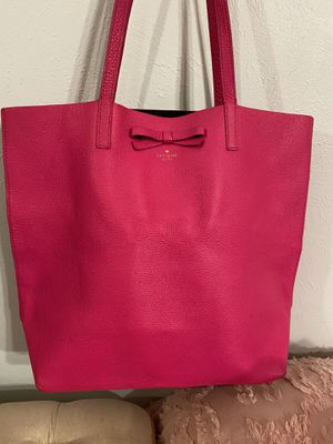 Kate Spade Pink Leather Tote for Sale in Denver, CO