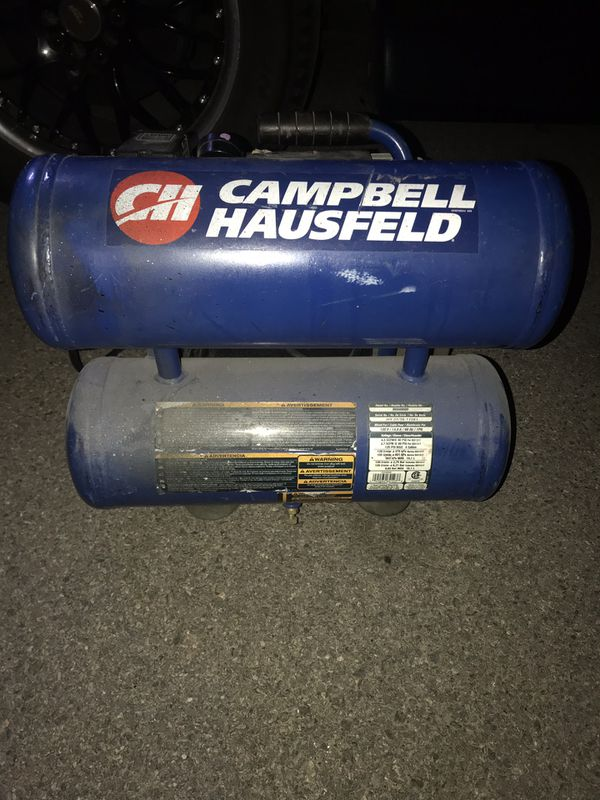 Compressor full power must go barely used