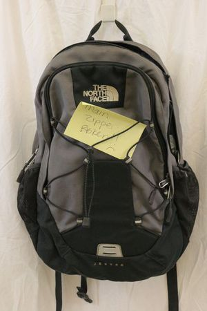 Grey & Black North Face Jester Backpack Needs Repair for Sale in Chattanooga, TN
