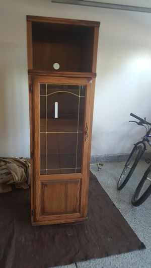 Solid Oak Cabinet for Sale in Las Vegas, NV