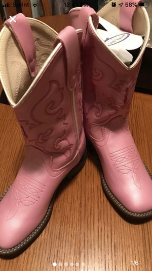 Cowboy Boots - girls size 13 - new with tags for Sale in Machesney Park, IL