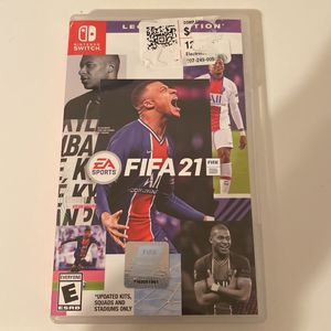 Nintendo Switch FIFA 21 for Sale in Garland, TX