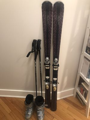 Skis, boots, and poles for Sale in Washington, DC