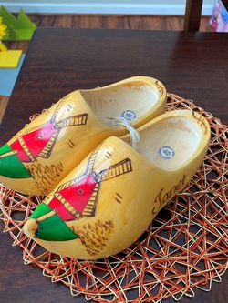 Wooden Womens Holland clogs (Janet) for Sale in Flowery Branch,  GA