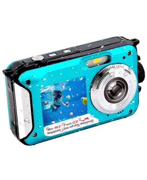 Brand new Waterproof Digital Camera, family Selfie, Dual Screen, Full-HD video recording for Sale in Redmond, WA