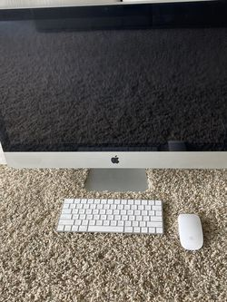 """2011 27"""" iMac With New Wireless Mouse & Keyboard for Sale in Riverside,  CA"""