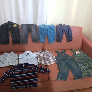 Size 12-18 month boy clothes for Sale in San Bernardino, CA