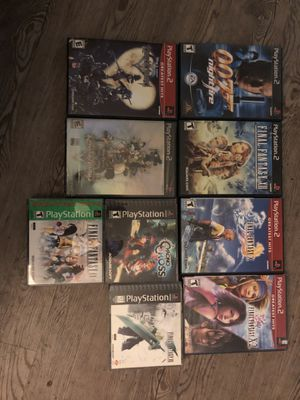 Ps2 games collection for Sale in Sunnyvale, CA