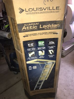 Louisville attic ladder for Sale in Menifee, CA
