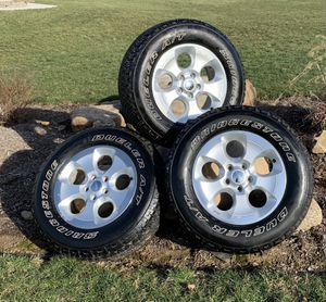 Jeep Wheels and Tires For Sale - $290 for Sale in Mantua, OH