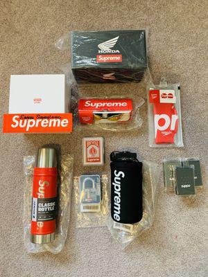 NEW Supreme accessories (stanley, zippo, pyrex, etc) for Sale in Corona, CA