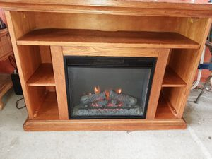 Fireplace 🔥🔥 Entertainment Center for Sale in Lehigh Acres, FL