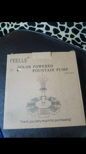 Feelle solar power mole repeller for Sale in Lawndale, CA