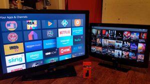 "46"" Samsung tv & 32"" LG tv & Fire tv stick for Sale in Pawtucket, RI"