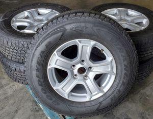 Jeep stock tire and Rims for Sale in El Monte, CA