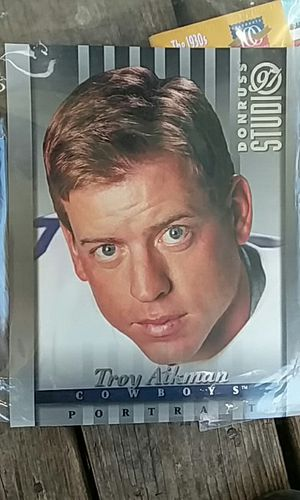 Donruss studio 97 1997. Troy aikman collectors card 9x11 for Sale in Kingsport, TN