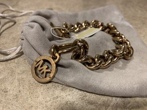 Rose Gold Michael Kors Thick Chain Bracelet for Sale in Aurora, CO