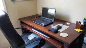 Desk With Power/USB Outlets for Sale in Salt Lake City, UT