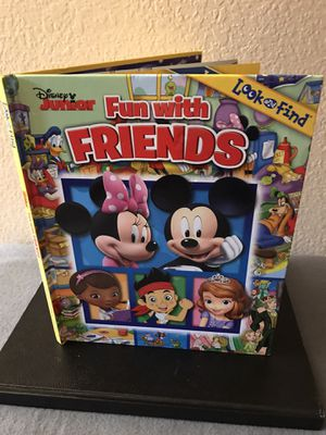 Disney Fun With Friends Look And Find Book for Sale in Turlock, CA