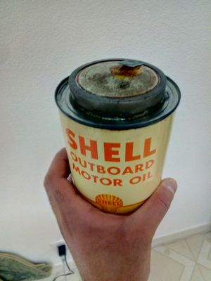 Vintage shell oil can for Sale in Alameda, CA