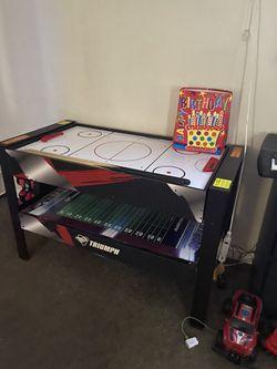 TRIUMPH 4 in 1 MULTI-GAME SWIVEL TABLE for Sale in Modesto,  CA