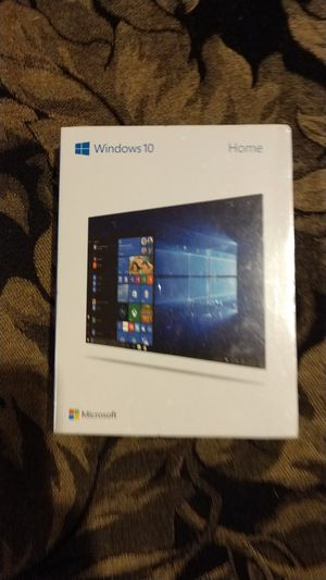 Windows 10 home new in box for Sale in Federal Way, WA