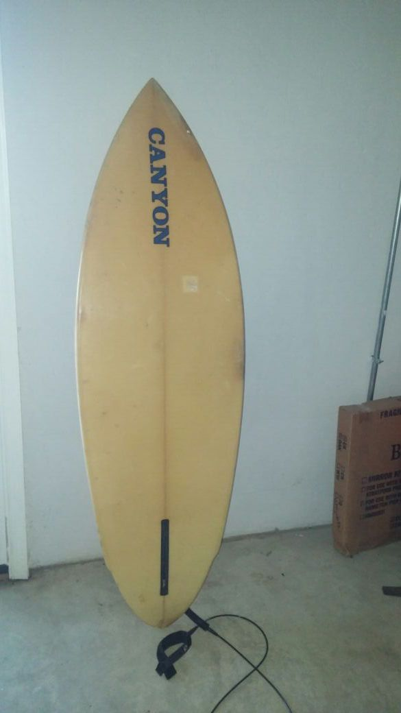 SALE Canyon surfboard collector item RARE