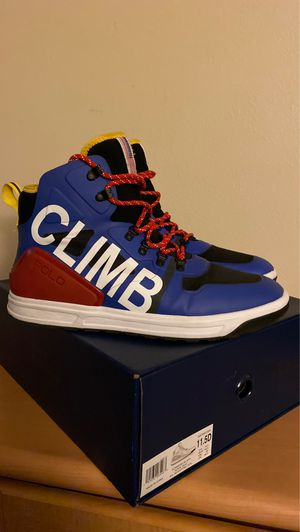 Polo Ralph Lauren Alpine High Top Sneakers size 11.5 for Sale in Kissimmee, FL